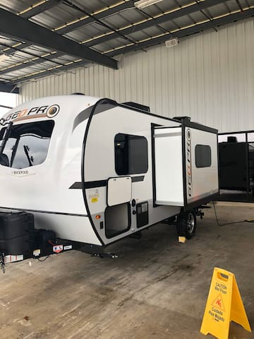Off Grid Capable Travel Trailer