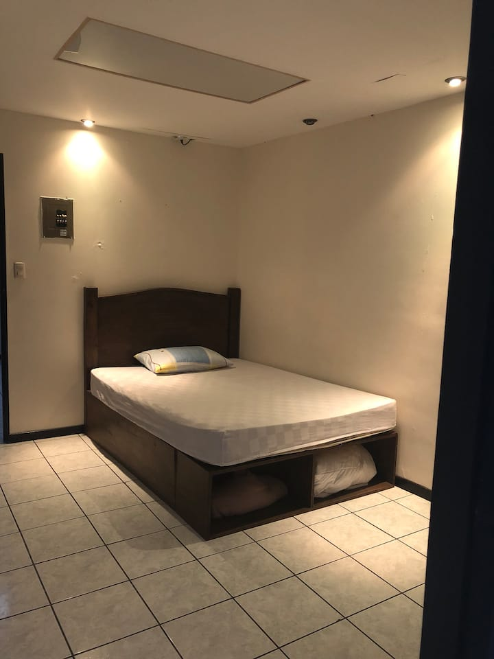 Comfortable bedroom, secure and private
