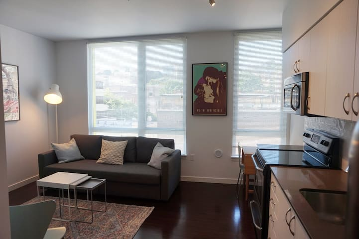 Family-friendly apartment in Seattle Center