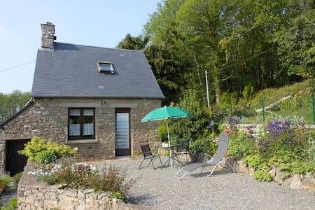 Le Crèpon, cosy granite cottage in the countryside - Le Mesnil-Gilbert - Ház
