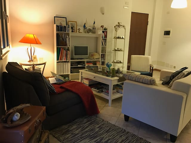 King size bed with tv in San Marino - Dogana - Apartment