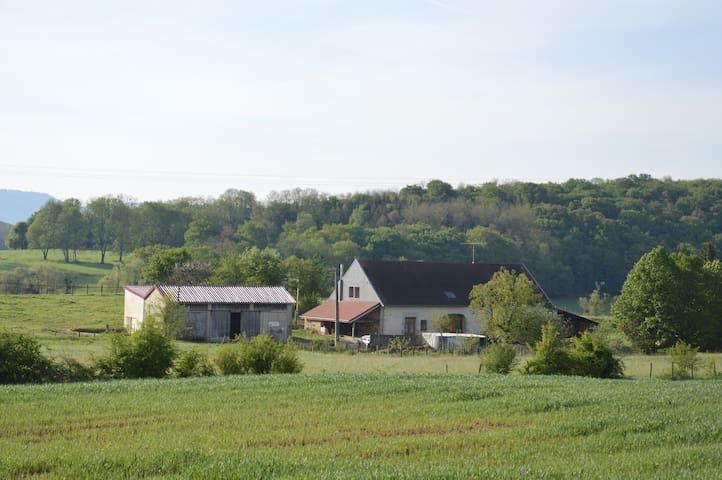 chambre familiale à la ferme