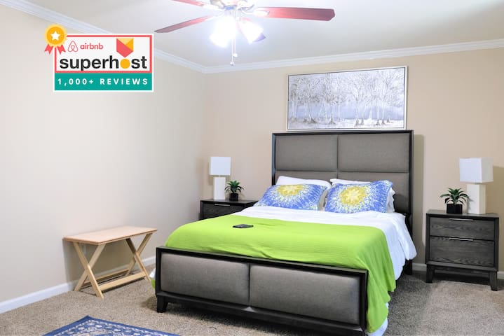 5 Beds Near Downtown ❤