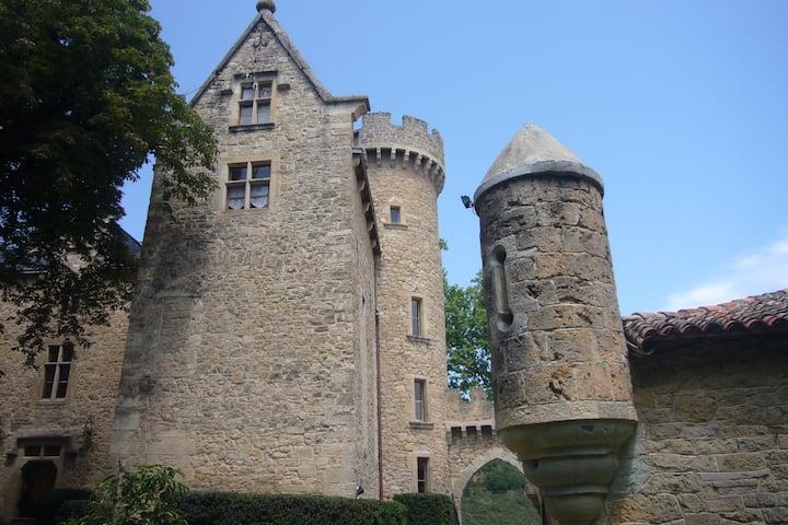 Château de Laumière XIV siècle sud Aveyron