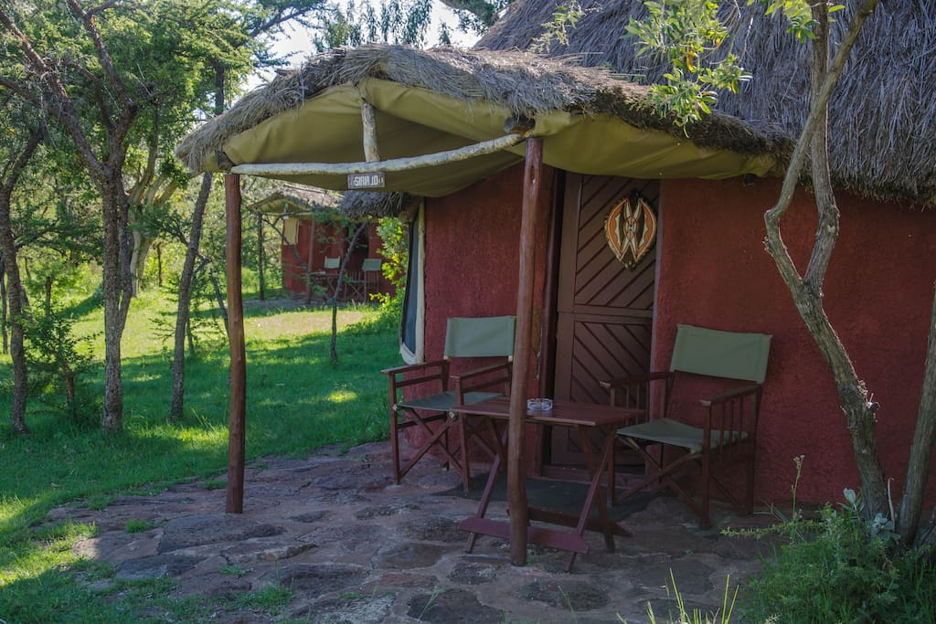 Luxury masai cottage