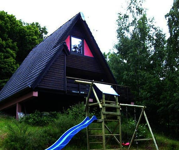 """Ferienhaus """"WINNETOU"""" - Leinsweiler - Cabin"""