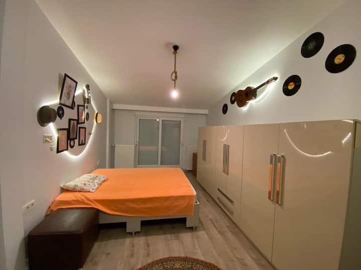 KONYAALTI, 100m to Mediterranean Sea,Loft Room -1-
