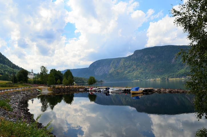 Strandly, charming cabin in the heart of Setesdal