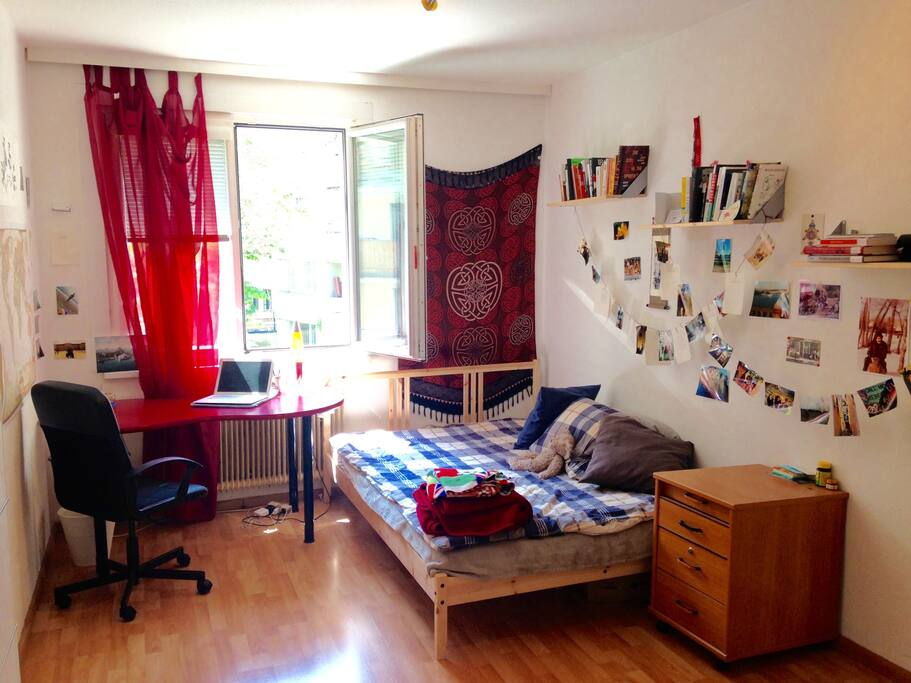 Your cozy room:)