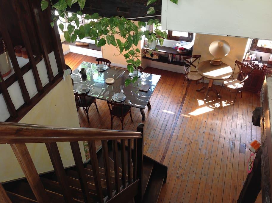 Salon, vu de la mezzanine