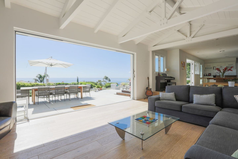Indoor outdoor Socal  living