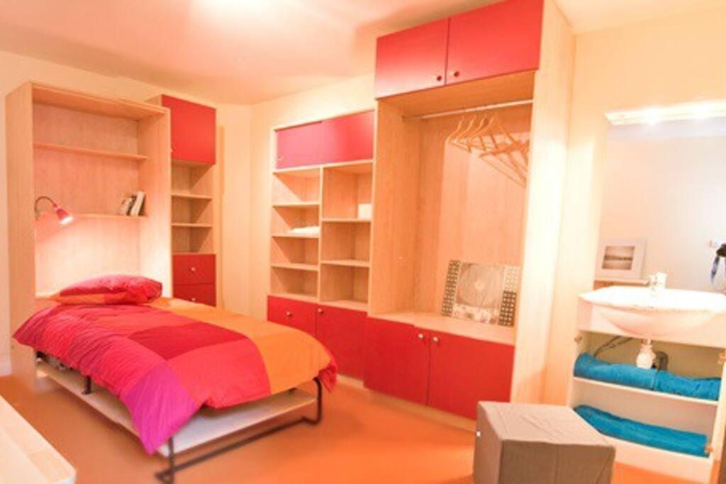 Chambre meubl e en r sidence 16m appartements en for Chambre a louer pays de gex