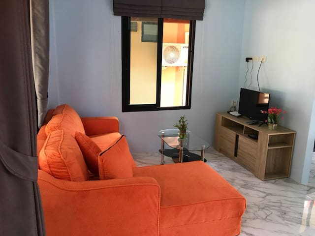 Small room with minimal amenities