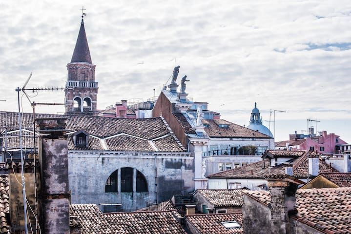 San Marco's roofs
