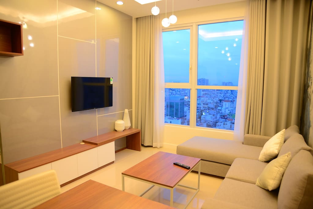 Nice living area with great view