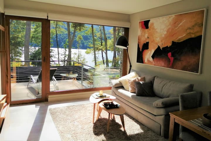 Lakeview apartment in the garden of Patagonia