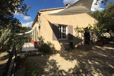 VILLA DE VACANCES CALME ET NATURE - Saint-Saturnin-lès-Apt - Casa