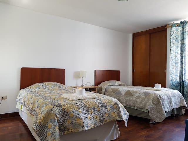 Habitación Doble y Privada  en San Borja