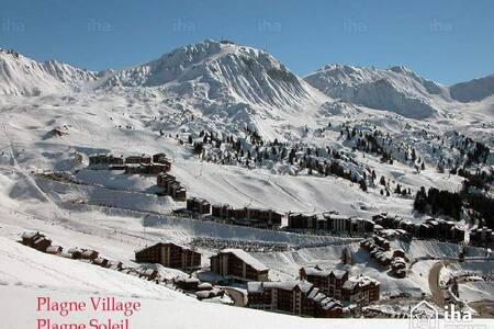 Plagne Village, nice appartement direct ski - Aime - Lejlighed