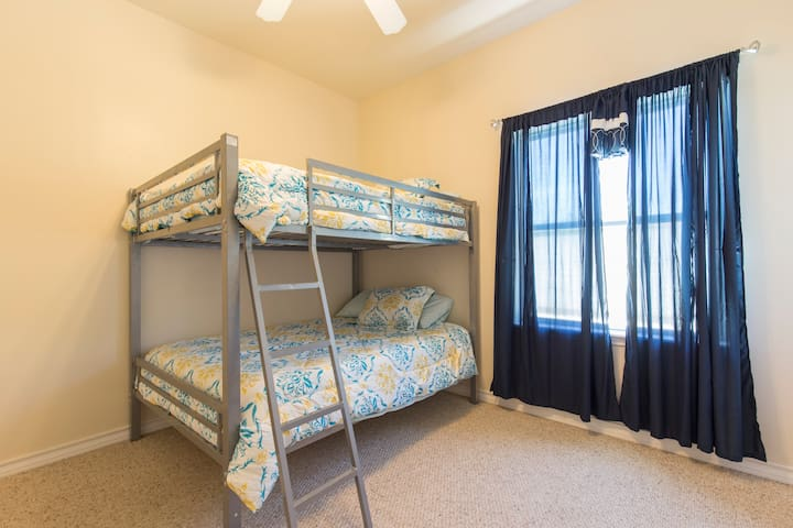 adult sized full size beds. all new tempurpedic mattresses on all beds Lucid brand all high end and new