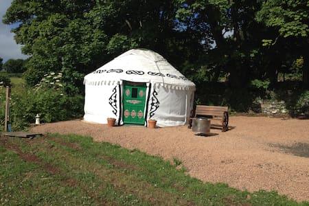 Al's Yurt near St Abbs
