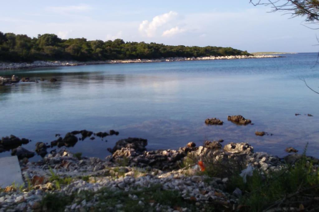 Najljepsa uvala Zapuntela i cijelog otoka Molata.