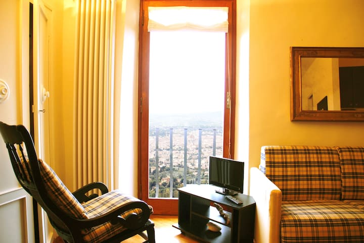 Fiesole amazing view studio-apartment - Fiesole - Pis