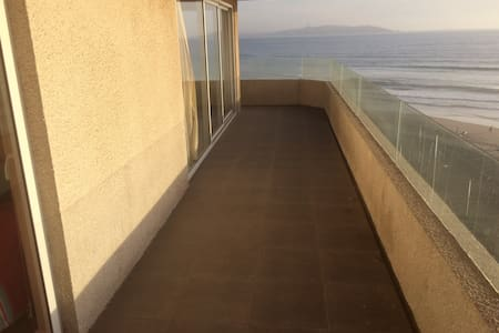 Beautiful terrace with seaview - La Serena - Apartment