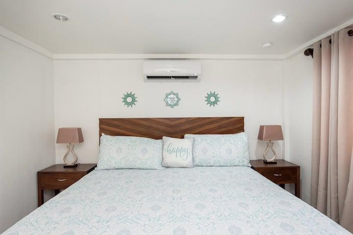 La Casa de Paz 203. Bedroom with private bathroom