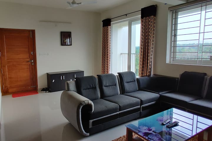2 BHK Furnished Apartment with Breathtaking view.