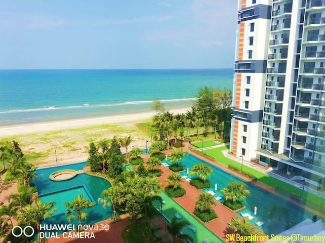 SW Beachfront Suites @Timur Bay