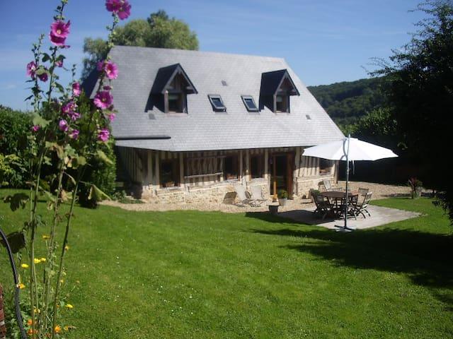 Maison normande aux portes d'Honfleur