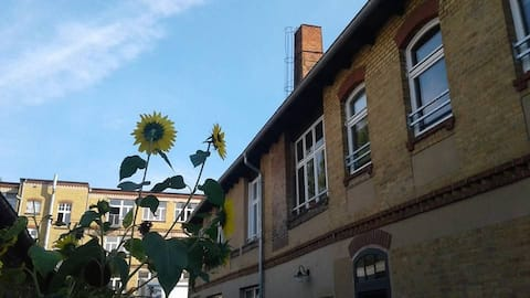 Apartment in ehem. Pianofabrik, südlich Berlin