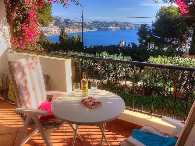 Pretty 2 bedroom apartment with stunning views