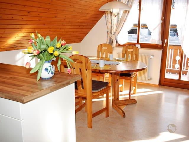 Ferienhaus Schwörer, (Feldberg-Altglashütten), Ferienwohnung C2, 71qm, 2 Schlafzimmer, max. 4 Personen