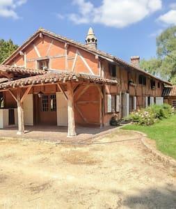 Authentique ferme bressane - Chevroux - Rumah