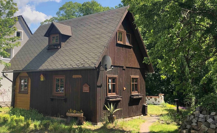 Gemütliches Ferienhaus in der schönen Oberlausitz