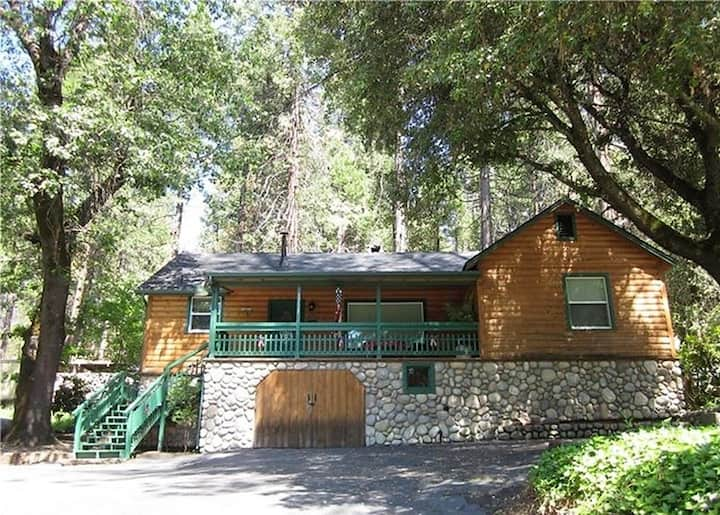 Lakeview Log Cabin (on the way to Yosemite!)