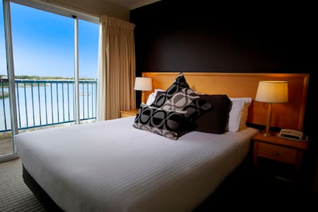 View of Port Philip Bay from one of the bedrooms