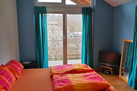 Cosy double-room with bathroom - Hechingen - Casa