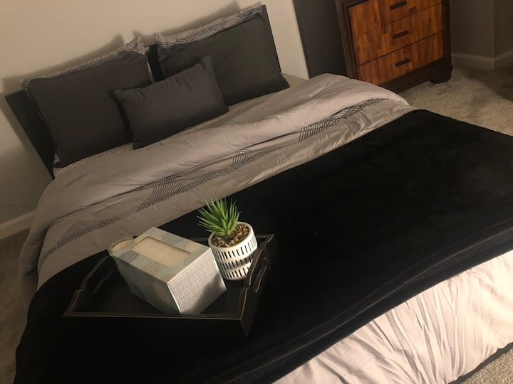 COZY, Private room, 5min from Wash. DC/Metro/DCA