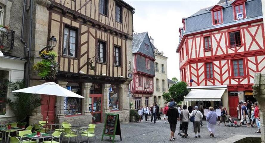 Studio centre historique - Vannes - Daire
