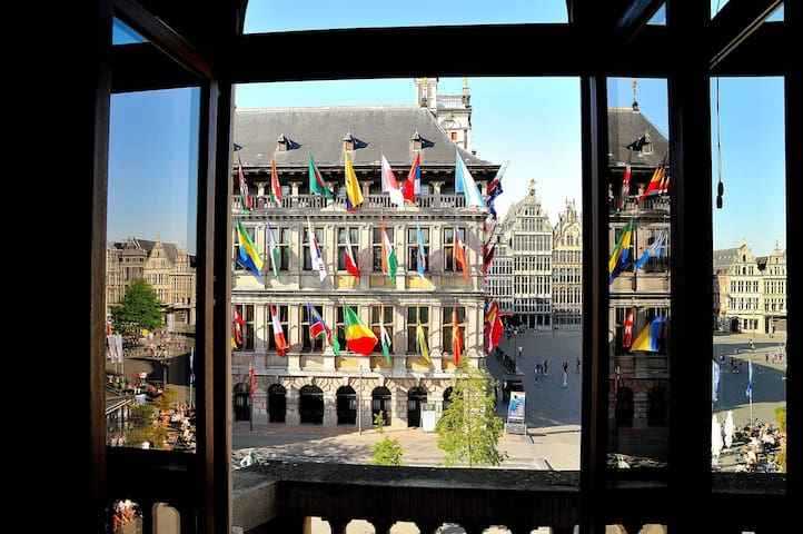 Apartment with the best cityview - Antwerpen - Apartment