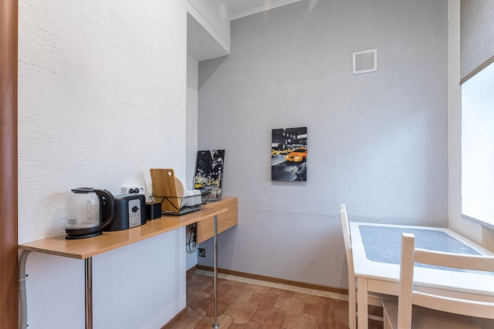 Cozy Studio apartment near Moscow-city and the Zoo