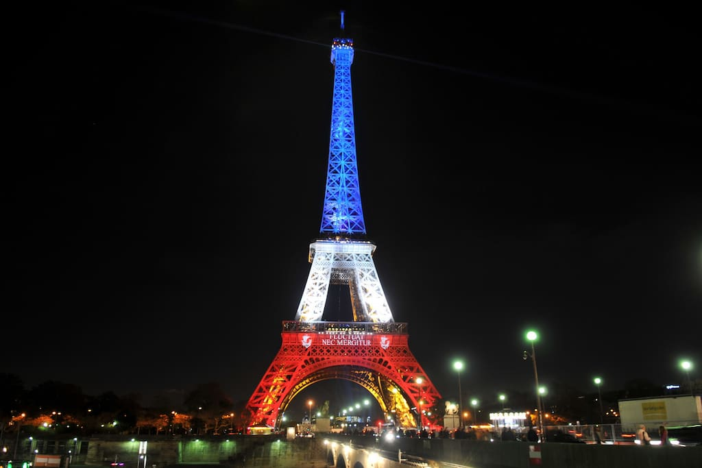 Eiffel tower - you may walk to Trocadero to see eiffel tower (5 minutes)