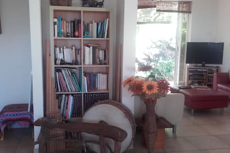 Cosy house 120 m2  with cute garden view to ocean - Fa'a'ā