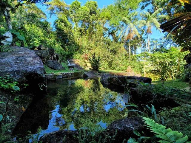 Casa das Pedras com piscina natural