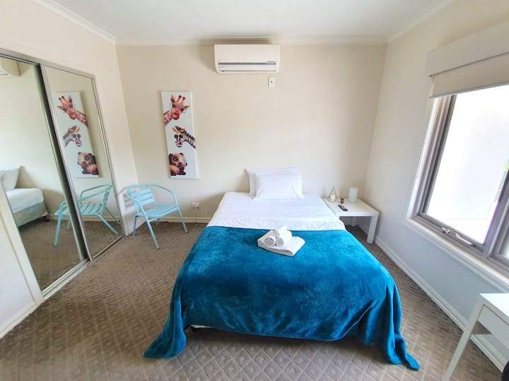 Large bedroom in our Brunswick Guest House