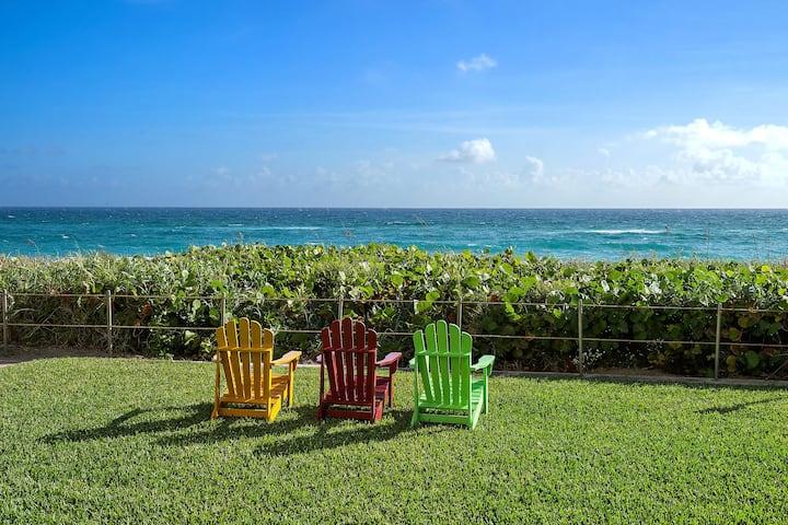 Ocean Front Luxury 2 Bed Apt In Palm Beach #204