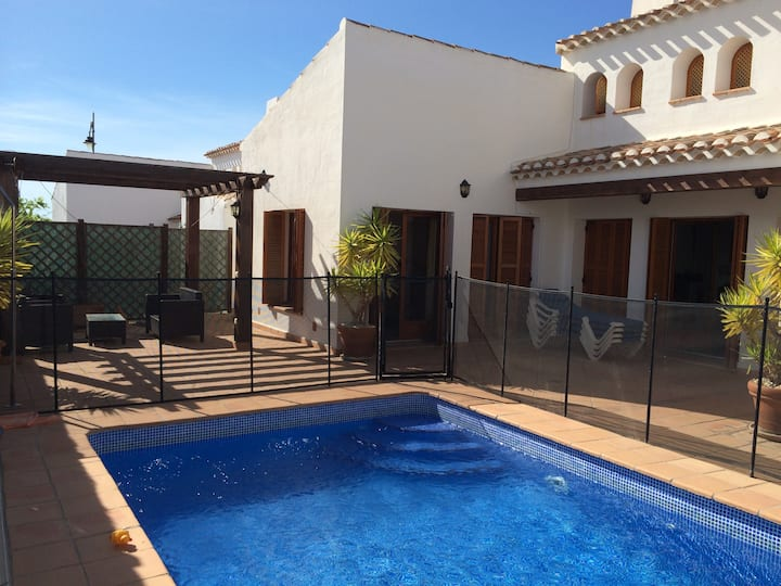 EL VALLE GOLF RESORT 4 BED VILLA WITH HEATED POOL